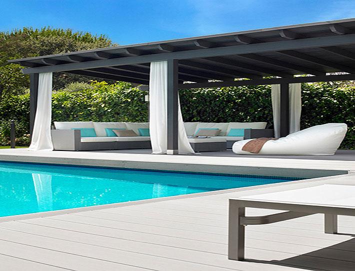 Summerglass cortinas de cristal cerramientos pergolas for Pergolas para piscinas